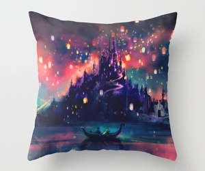 pillow, disney, and rapunzel image