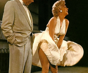 Marilyn Monroe, dress, and marilyn image