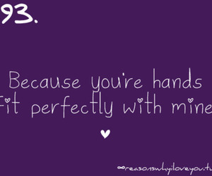 hands, love, and mine image