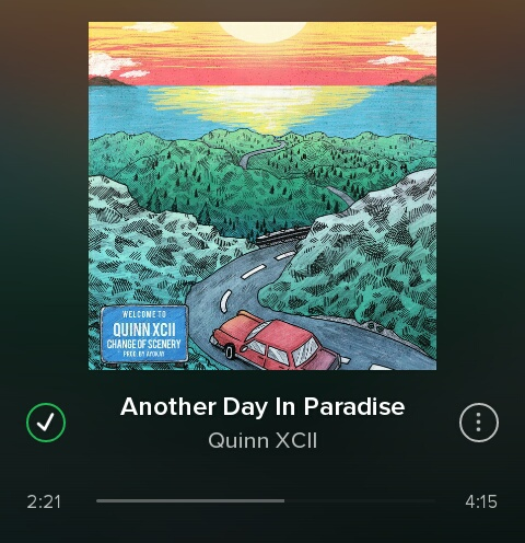 music, ♡, and another day in paradise image