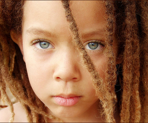 eyes, rasta, and child image