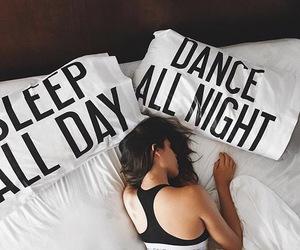 girl, sleep, and dance image