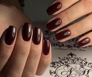 chocolate, coffee, and nail art image