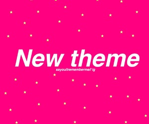 pink, theme divider, and pink theme divider image