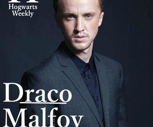 draco malfoy, harry potter, and hogwarts weekly image