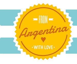 argentina, badge, and badges image