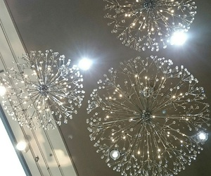 ceiling, lights, and sparkle image
