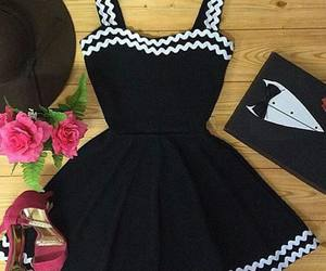 look, dress, and fashion image