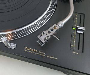music, old school, and technics image