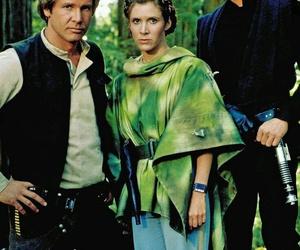 star wars, han solo, and luke skywalker image