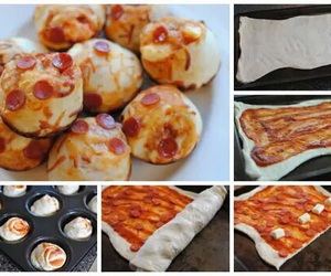 food, pizza, and diy image