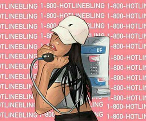 hotlinebling and hotline+bling image