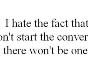 quote, conversation, and hate image
