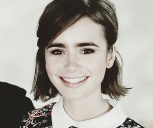 lily collins, love rosie, and rosie dunn image