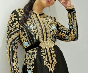 caftan, clothes, and morocco image