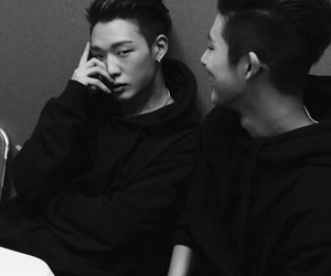 Ikon, bobby, and hanbin image