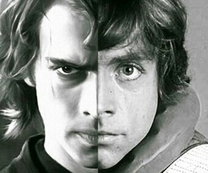 Anakin Skywalker, father and son, and star wars image