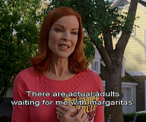 Adult, Desperate Housewives, and friday image