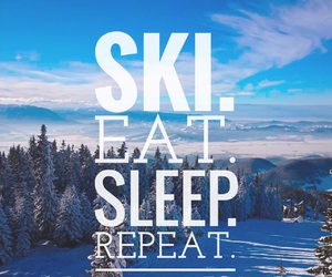repeat, ski, and snow image