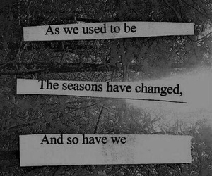 quote, sad, and change image