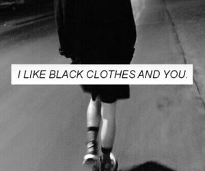 grunge, black, and quote image