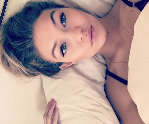 bed, celebrity, and model image