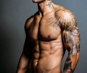 Hot, men, and tattoo image