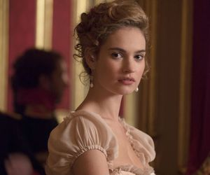 war and peace and lily james image