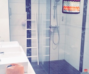 bath, bathroom, and home image