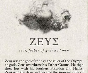 Zeus, greek, and mythology image