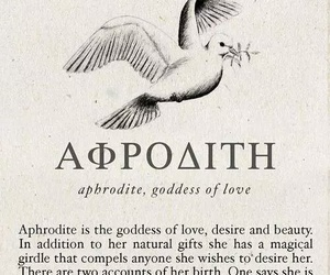 aphrodite, mythology, and greek mythology image
