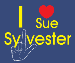glee and sue sylvester image