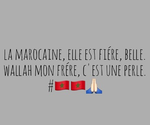 french, maroc, and texte image
