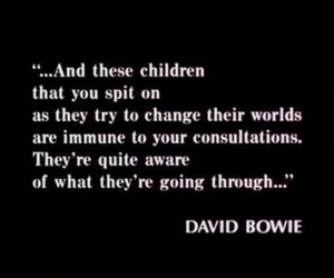 david bowie, quotes, and The Breakfast Club image
