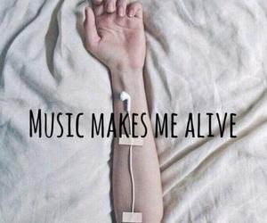alive, music, and sad image