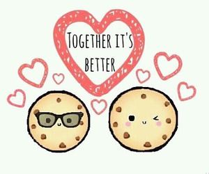 amor, together, and love image