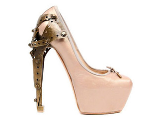 shoes, pink, and Alexander McQueen image