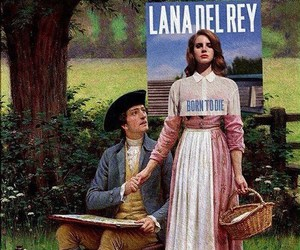 lana del rey, art, and born to die image