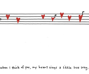 love, song, and heart image
