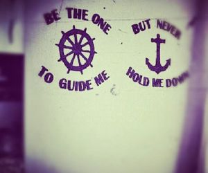 anchor, leme, and quotes image