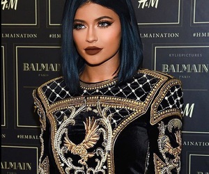 kylie jenner and Balmain image
