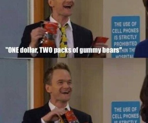 funny, how i met your mother, and barney image