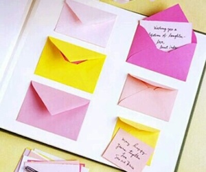diy, envelope, and ideas image