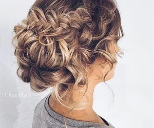 beautiful, coiffure, and girl image