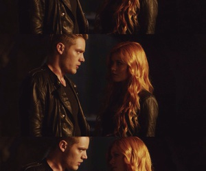 jace wayland, clary fray, and jace and clary image