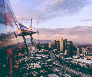 city, travel, and los angeles image