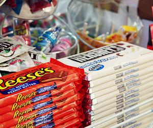 chocolate, hershey's, and reese's image