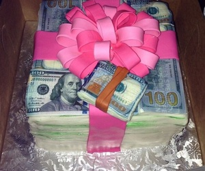 cake and money image