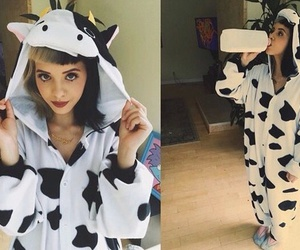 cow, melanie martinez, and cute image