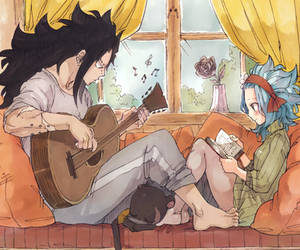 anime, fairy tail, and couple image
